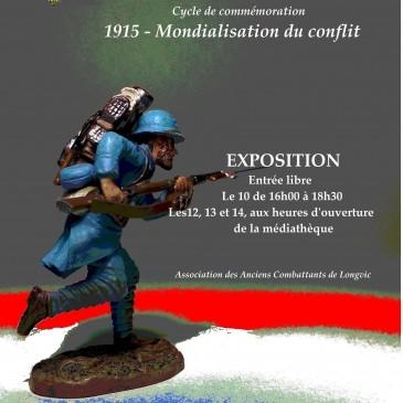 Cycle d'expositions sur la Grande Guerre : deuxième rencontre à LONGVIC