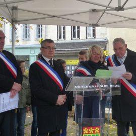 Mirebeau-sur-Bèze-Commémoration  du 11 novembre 2016