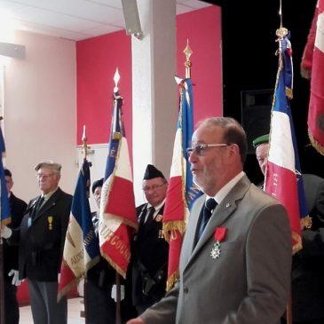 20 mai 2017 – Fernand Pierre KERN est fait chevalier de la Légion d'honneur