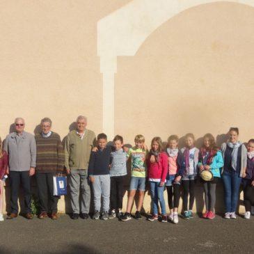 Mai 2018 – Voyage scolaire des élèves de COUCHEY à Besançon avec les Anciens Combattants.